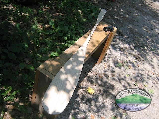 Homemade Paddle