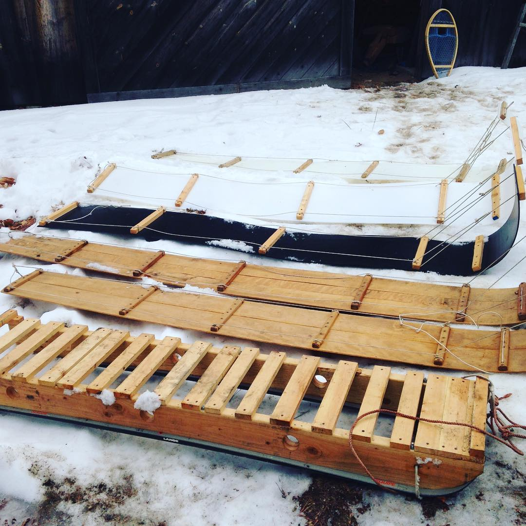 Homemade Toboggans And Sleds